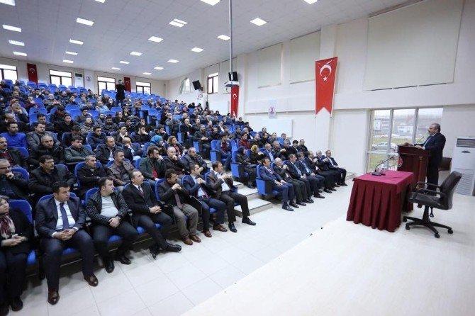 """Şentop: """"Yeni Anayasa İle Birlikte Başkanlık Sistemi De Türkiye İçin Gereklidir"""""""