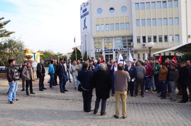 Didim Belediyesi'nde Eylem