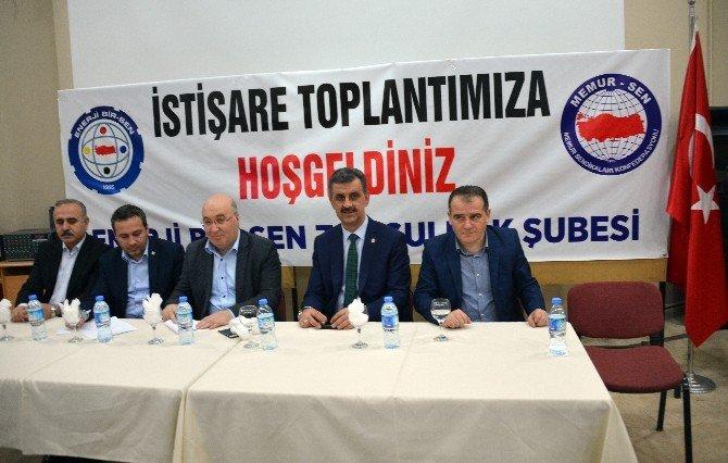 """Tonbul'dan """"Sivil Anayasa"""" Çağrısı"""