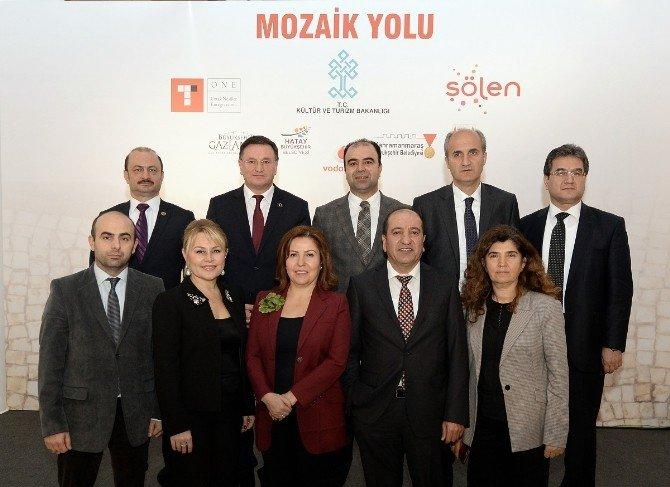 Gaziantep'in Mozaiklerini Dünya Tanıyacak