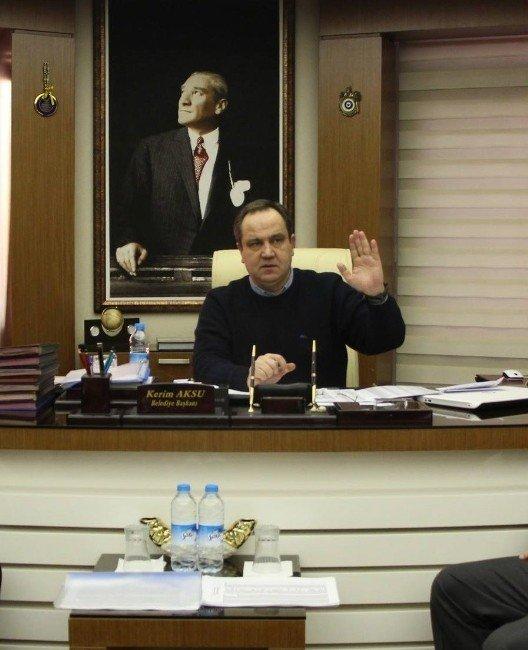 Giresun Belediyesi 2016 Yılı Birim Toplantısı Yapıldı