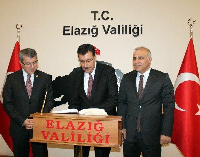 Gümrük Ve Ticaret Bakanı Tüfenkci Elazığ'da