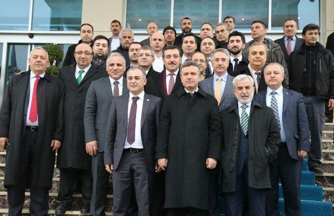 Gümrük Ve Ticaret Bakanı Tüfenkci'den Elazığ Belediyesi'ne Ziyaret
