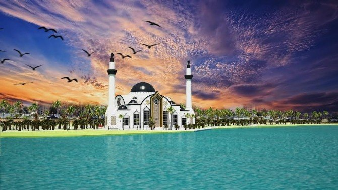 "İskenderun'a ""Sahil Cami"" Yapılıyor"