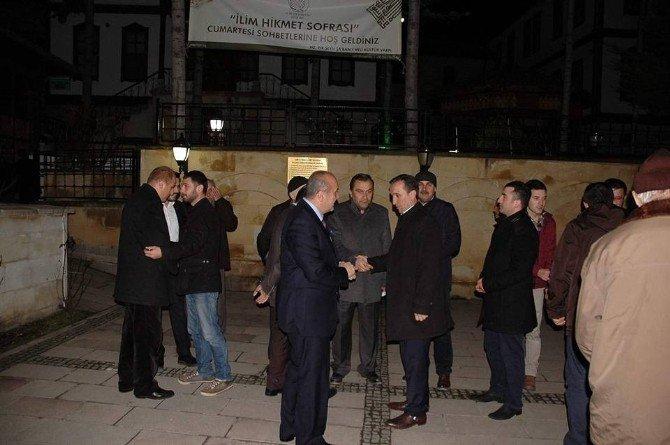 Hz.pir Şeyh Şaban-ı Veli Camisinde Mevlidi-şerif Okutuldu