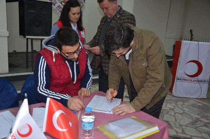 Türk Kızılay'ı Bilecik Şube Başkanlığı Olağan Kongresi Yapıldı