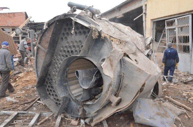 Karaman'da Kalorifer Kazanı Patladı: 1 Ölü
