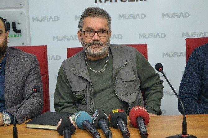 Türkmen Dağı Derneği Başkanı Öztürk'ten MÜSİAD'a Ziyaret