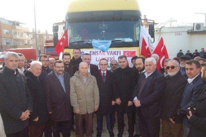Bayırbucak Türkmenlerine 26 Ton UN Yardımı