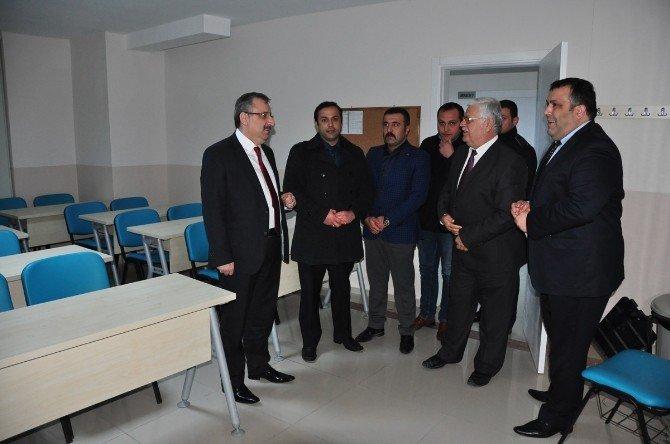 Memiş'ten Gördes'te Hizmet Toplantısı