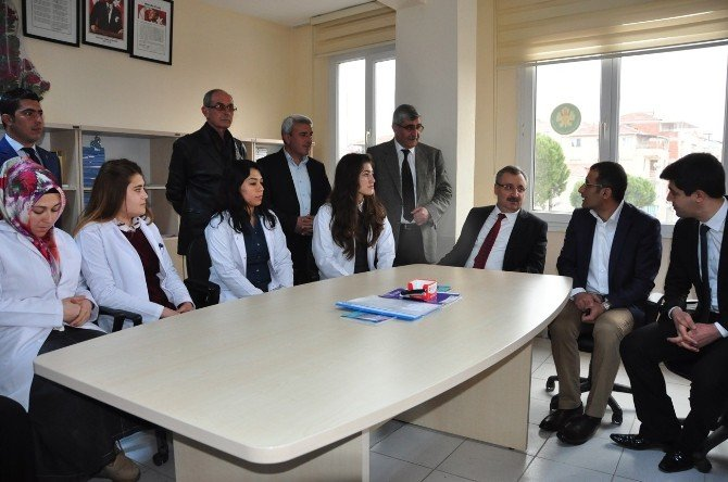 Genel Sekreter Memiş'ten Köprübaşı Mabem'e Ziyaret