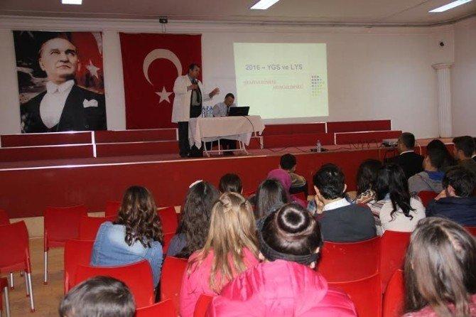 Sarıgöl'de Mabem Gençlerine Sınav Motivasyonu