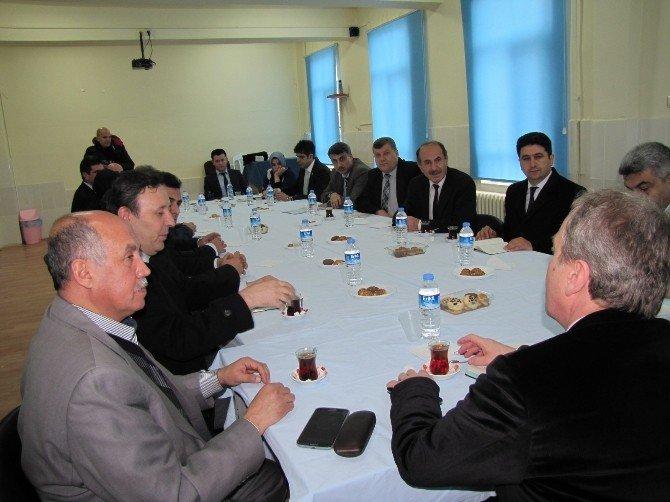 Milletvekili Kavuncu Hisarcık'ta Sorunları Dinledi