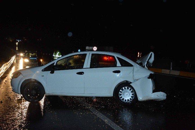 Köyceğiz'de Trafik Kazası; 2 Yaralı