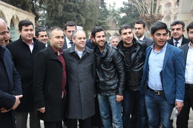 """Gençlerden Bakan Kılıç'a: """"Vallahi Helal Olsun"""""""