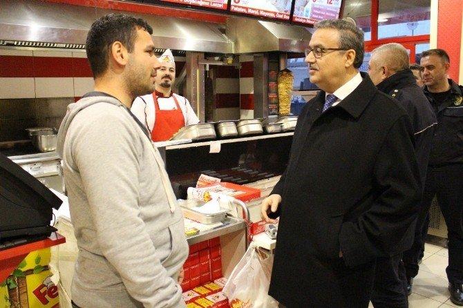 Şırnak Valisi Ali İhsan Su Silopi'de İncelemede Bulundu