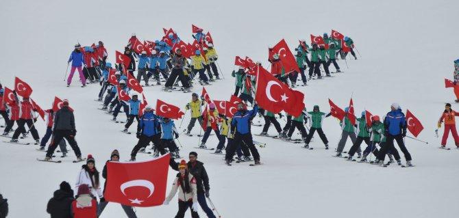 Yıldız Dağı Kış Sporları Turizm Merkezi törenle hizmete açıldı