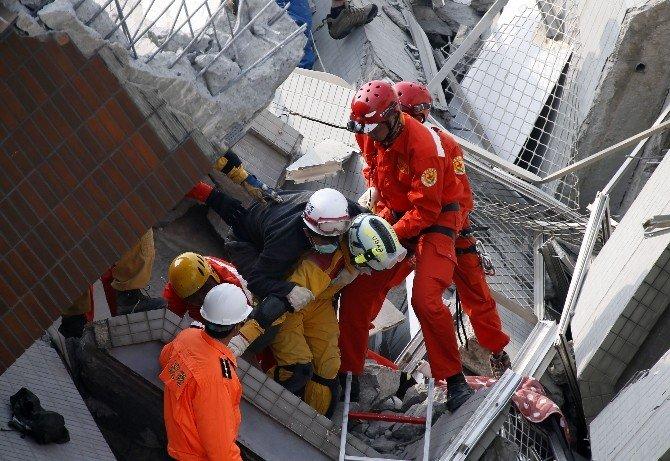 Tayvan'da 6.4 Büyüklüğünde Deprem