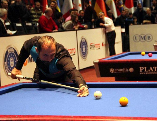 Semih Saygıner dünya şampiyonuna elendi, Tayfun Taşdemir çeyrek finale