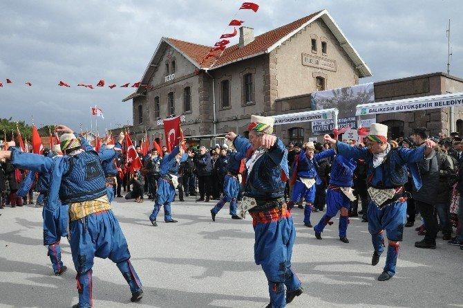 Atatürk'ün Balıkesir'e Gelişinin 93. Yıl Dönümü Kutlandı