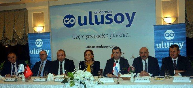 Ali Osman Ulusoy Şirketler Grubu Yeni Logosu İle Görücüye Cıktı