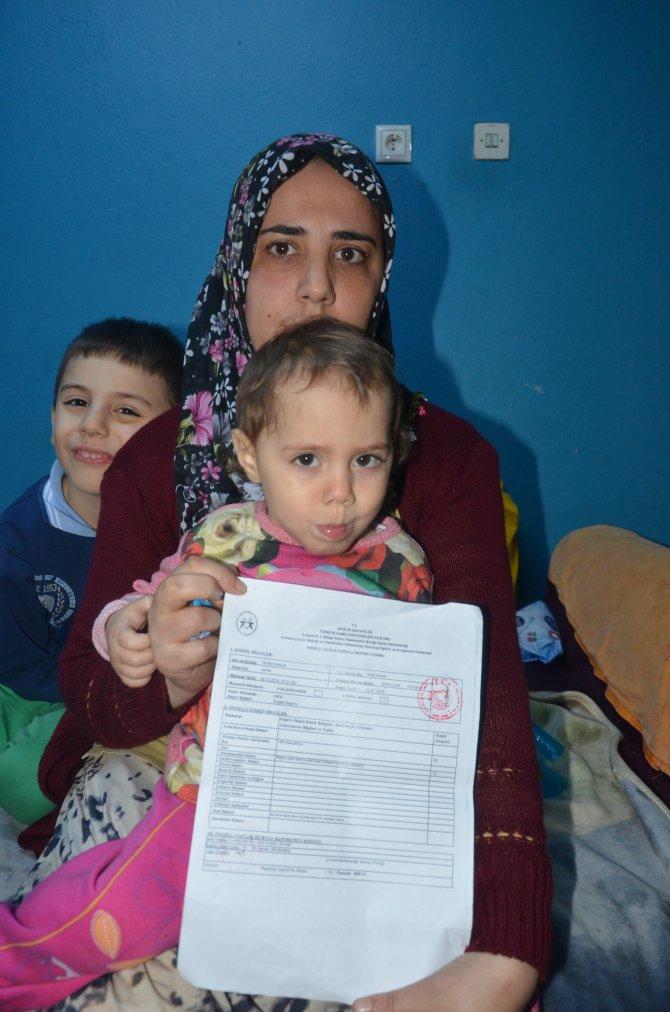 Talasemi hastası Zeynep bebek, tedavi edilmezse ölecek