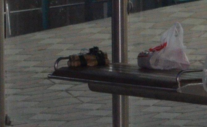 Başkent'te şaka amaçlı hazırlanan bomba polisi alarma geçirdi