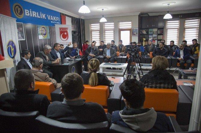 Gürkan, Gençlerle Sohbet Etti
