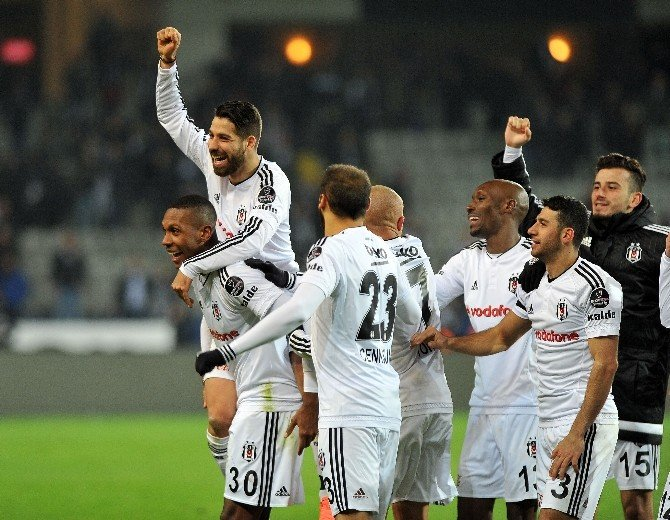 Beşiktaş Beşinci Viteste