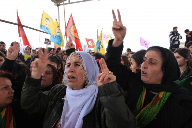 Erbil'de PKK taraftarlarına müdahale: 4 yaralı