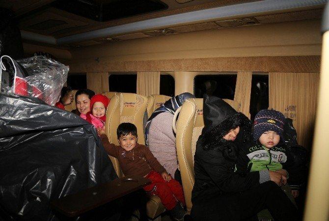 Bursa'da 34 Mülteci Yakalandı