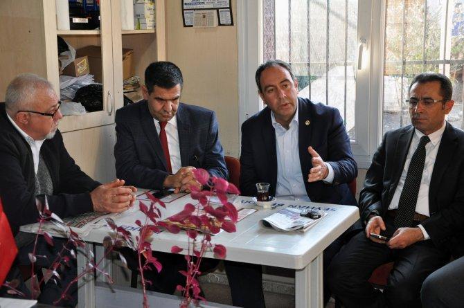 CHP Milletvekili Tümer: Muhtarlar demokrasinin mihenk taşı