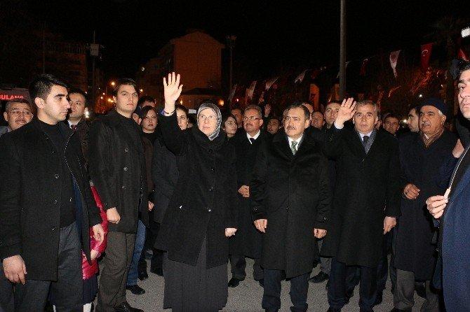 Bayırbucak Türkmenleri Yardım Tırı'na İki Bakanlı Uğurlama
