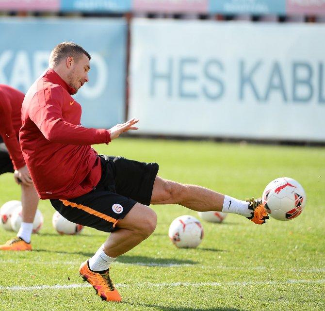 Galatasaray, kupa mesaisine başladı