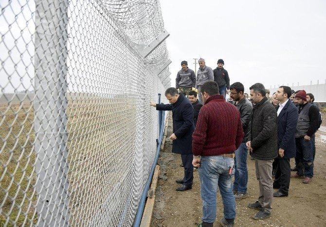Karkamış Sınırına Çekilen Duvar İnşaatında Sona Geliniyor