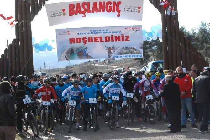 Kahramanmaraş'ta Bisiklet Yarışı Ve Halk Koşusu