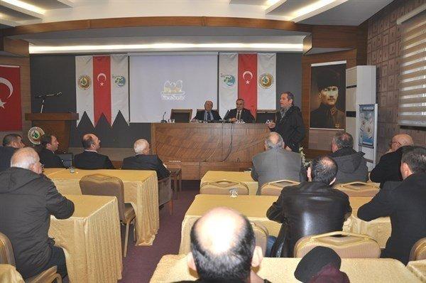 Kooperatif Temsilcileriyle Toplantı Yapıldı