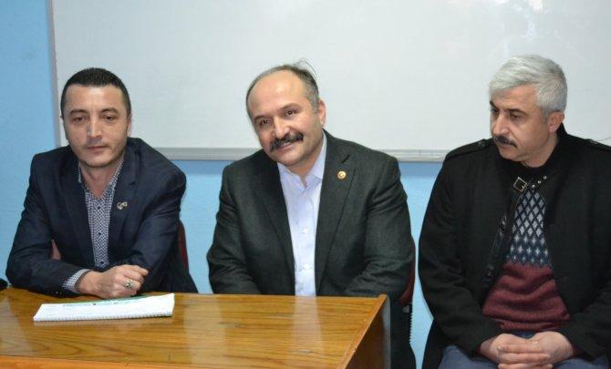 MHP Samsun Milletvekili Usta Havza'da
