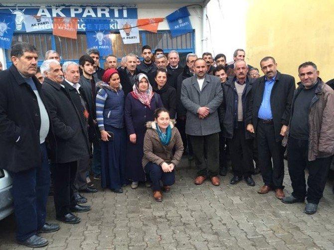 Milletvekili Mustafa Şahin'den Arguvan'a Ziyaret