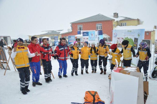 Muş 1. Uluslararası Kar Festivali yapıldı