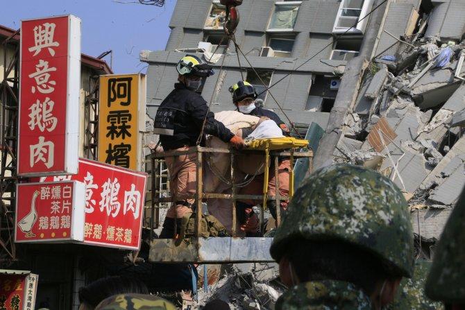 Tayvan'daki depremde ölü sayısı 34'e yükseldi