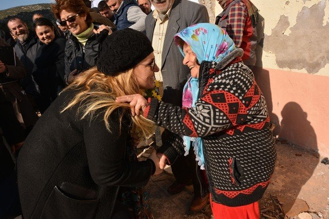 Başkan Uyar, Balıklıova Köyüne Yapılacak Projeyi Yerinde İnceledi