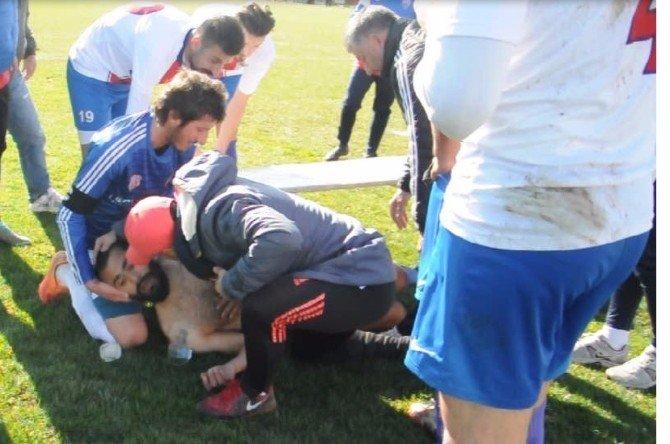 Futbolcunun Canı Allah'a Emanet