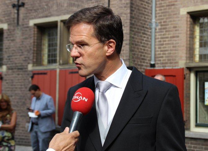 AB Dönem Başkanı Mark Rutte, Başbakan Davutoğlu'nu kabul edecek