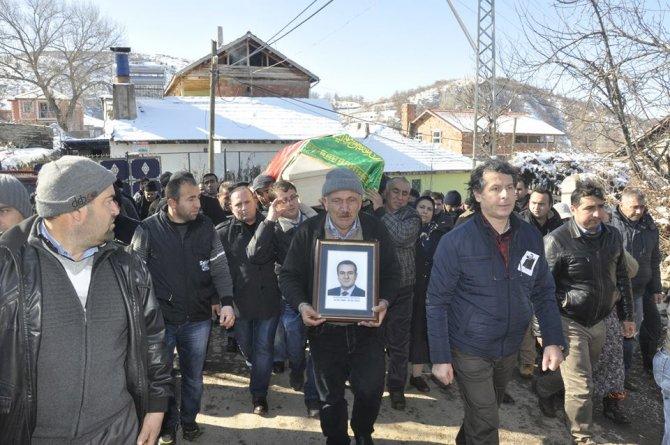 Adana'daki kazada hayatını kaybeden Savcı Kaya Yozgat'ta defnedildi