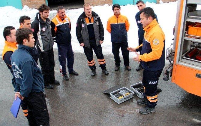AFAD'ın Hizmetiçi Eğitimleri Devam Ediyor