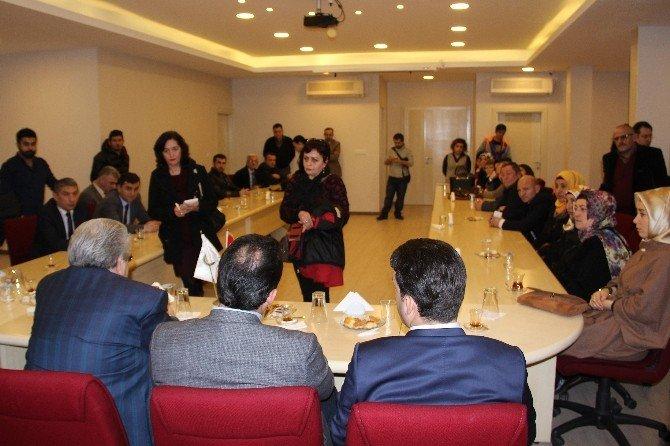 AK Parti Milletvekili Ulupınar, TSO'yu Ziyaret Etti