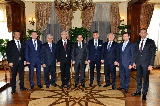 Ansiad'dan Vali Türker'e Ziyaret