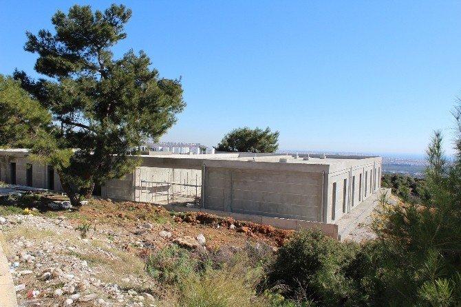 Antalya Amatem İnşaatının Yüzde 95'i Tamamlandı