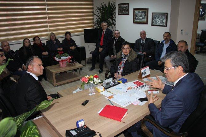 CHP İl Başkanı Barut: CHP'nin kırmızı çizgileri cumhuriyet ve Atatürk ilkeleridir